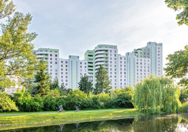 Ponad 330 lokali zostało ukończonych w Wiślanych odgrodach. Żoliborz wzbogacił się o nowy dobry projekt.